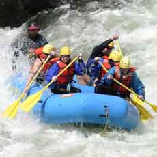 1004 RAFTING, WHITE WATER - ST JOSEPH RIVER