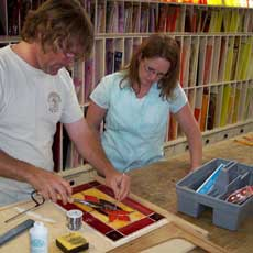 1106 STAINED GLASS WORKSHOP CLASS